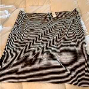 NWT stripe skirt